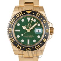勞力士 (Rolex) GMT-Master II Green/18k gold Ø40mm - 116718LN