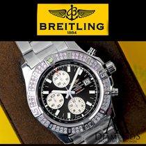 Breitling Diamond Breitling Colt Chronograph Stratus Black...