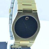 Movado Museum Damen Watch Uhr Rar Stahl Top Quartz 34mm