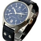 IWC Big Pilots Watch in Platinum Blue Dial - Platinum L...