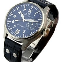 IWC Big Pilots Watch in Platinum Blue Dial