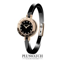 Bulgari B-Zero1 Ceramic Black 23mm Rose Gold  102087