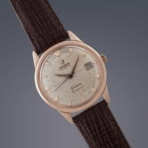 Omega Geneve Calendar 18ct rose gold automatic