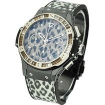 Hublot Big Bang Snow Leopard 48 Bageutte Diamond Bezel