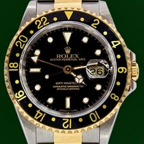 Rolex GMT Master II 16713 18k Gold Steel Box&Papers