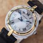 Cartier Panthere Swiss Made 18k Gold And Stainless Steel Watch...