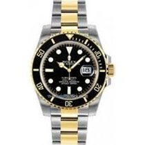 勞力士 (Rolex) 116613LN Black Gold Steel Ceramic Submariner Date