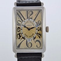 Franck Muller LONG ISLAND WHITE GOLD 1150 SC DT  SERVICED 2 YR...
