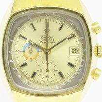 Omega Seamaster Jedi Chronograph Gold Plated Automatic Watch...