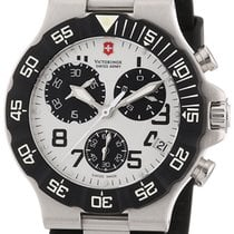 Victorinox Swiss Army Summit XLT Chronograph Black Rubber Mens...