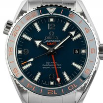Omega Seamaster Planet Ocean GMT Good Planet Foundation Stahl...