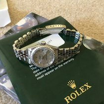 Rolex Ladies Ss Date 79240 Quickset Circa 2003 Silver Dial...