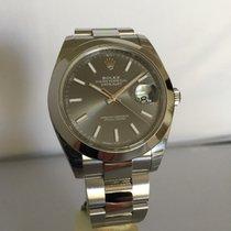 Rolex Datejust 41mm Ref. 126300 dark rhodium dial+LAGERND+