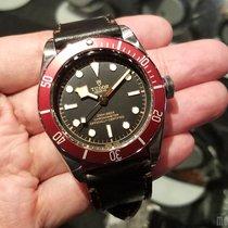 帝陀 (Tudor) 79230R Leather Strap (2016 Novelty) Heritage Black...