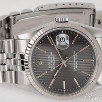 Rolex - Datejust : 16234 gray tapestry dial on Jubilee bracelet