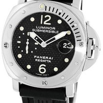 "Panerai Gent's Stainless Steel 44mm  PAM199 ""Luminor..."