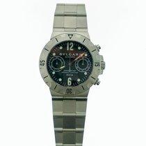 Bulgari Diagono Diver's Chronograph SCB38S Stainless Steel