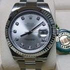 勞力士 (Rolex) Rolex Datejust 116334 Silver Diamond