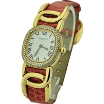 Patek Philippe Lady's Golden Ellipse with Diamond Bezel