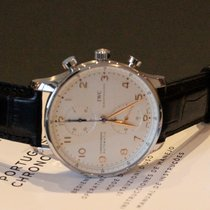 IWC Portoghese Chronograph, VAT INCLUDED, EXPORT POSSIBLE,