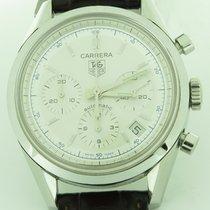 TAG Heuer Carrera Silver Chronograph Cv2110-0 Calibre 17...