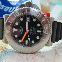 Squale Tiger 300m Anthracite Dial