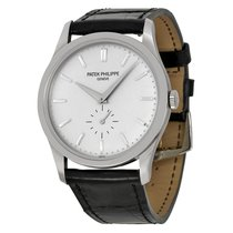 Patek Philippe [NEW] Calatrava Silver White Gold 5196G...