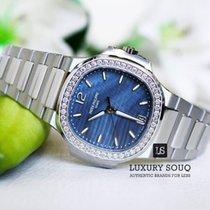 Patek Philippe Blue Dial Patek Philippe Ladies Nautilus 33.6mm...