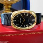 Certina Jubile Vintage 18 Karat Yellow Gold Roman Numeral...