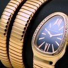 Bulgari Serpenti Tubogas 18 kt pink gold, diamonds set, full set