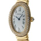 Cartier Baignoire Collection Lady 18k Yellow Gold 23mm Factory...