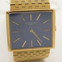 Patek Philippe 3549j 18k Yellow Gold Navy Blue Dial 3549...