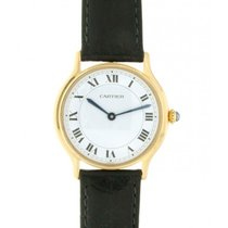 Cartier Classic Yellow Gold, Lether, 30mm