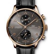 IWC Schaffhausen IW371482 Portugieser Chronograph Ardoise...