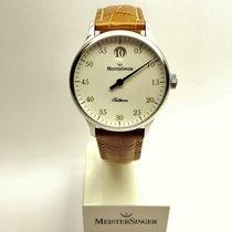 Meistersinger Salthora SH901G weiß, Index gold