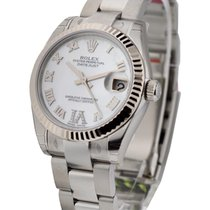 Rolex Unworn 178274 Mid Size Datejust with Oyster Bracelet -...