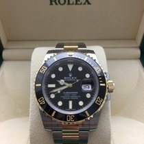 Rolex NEW Submariner TuTone 18kt YG/SS w/Box+Papers 116613LN