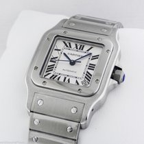 Cartier Santos Automatic Stainless Steel w20098d6 New Box +...