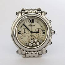 Chopard Happy Sport Chronograph Stainless Steel White Dial 7...