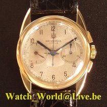 Universal Genève Rare and fine 18ct gold (year 1936) chronograph