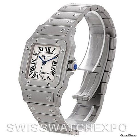 Cartier Santos Galbee Men&amp;#39;s Quartz Steel Watch