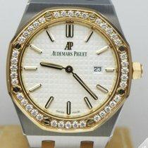 Audemars Piguet Royal Oak Lady Quartz Steel and Gold Diamond...