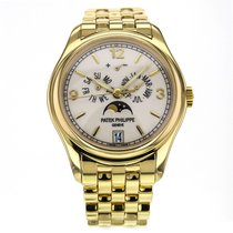 Patek Philippe Annual Calendar Gold Automatic White Dial...