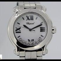 Chopard Happy Sport steel with steel bracelet and 7 diamonds