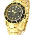 Rolex Used Vintage Submariner 1680 Yellow Gold