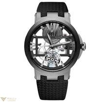 Ulysse Nardin Executive Skeleton Tourbillon Titanium Mens Watch