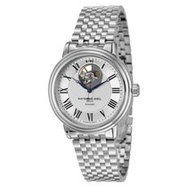 Raymond Weil Men's Maestro Automatic Open Balance Wheel Watch
