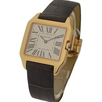 Cartier W2009251 Santos Dumont - Small Size - Rose Gold on Strap