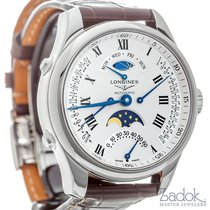 Longines Master Collection Retrograde Day/Date & Moon...