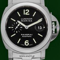 Panerai Luminor Marina Pam220 Automatic 44mm Steel Bracelet...